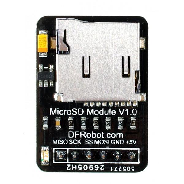 MicroSDCardModuleArduinoAvanti