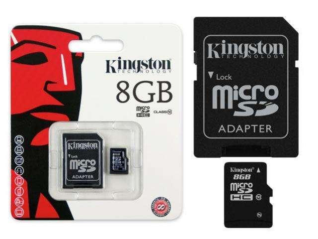 MicroSD8gbClasse10