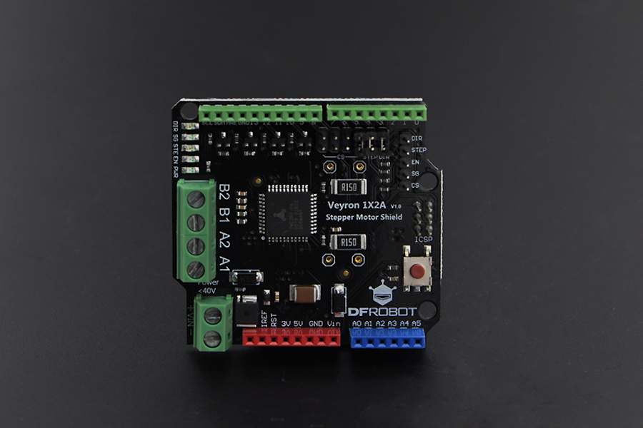 Tmc260 stepper motor driver shield raspberry pi arduino for Raspberry pi stepper motor controller