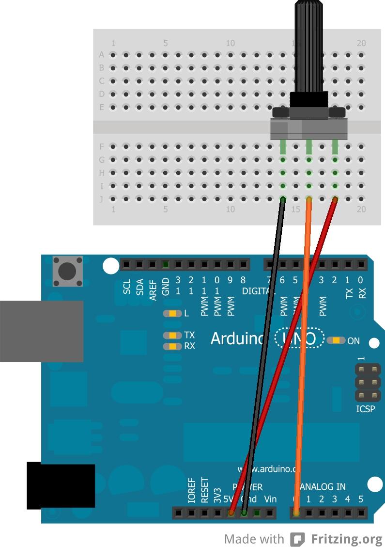 Potenziometro Bb on Sd Control Module