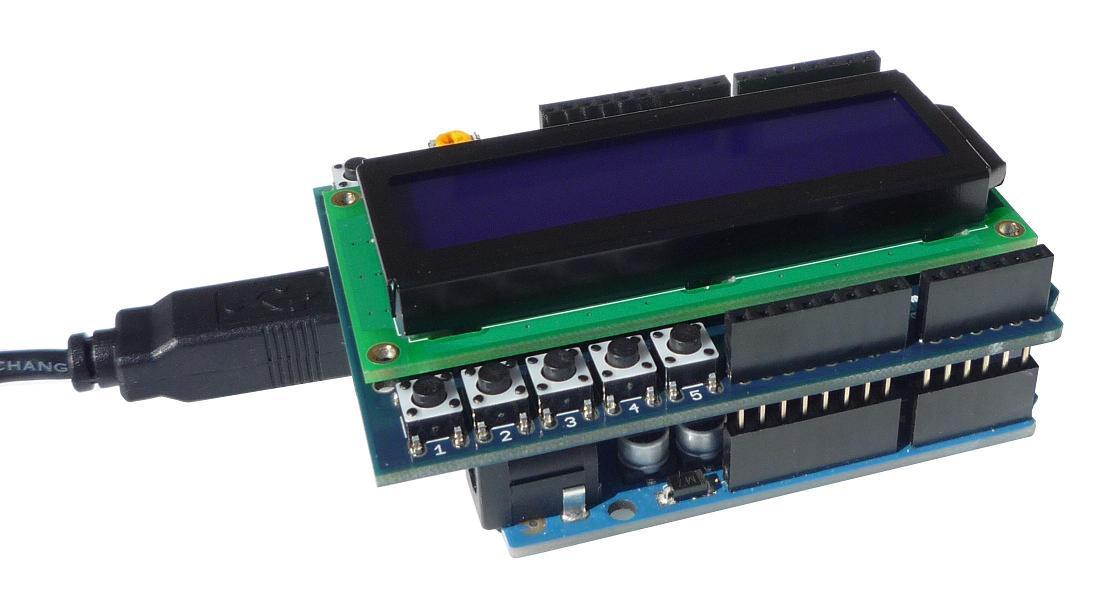 Esempio Lcd Shield Arduino Uno Con Push Button Lezione 9