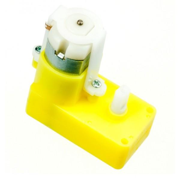 Micro dc geared motor back shaft raspberry pi arduino for Nord gear motor 3d model