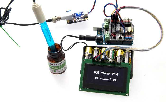 Analog Sensor pH Meter Kit  Raspberry Pi - Arduino