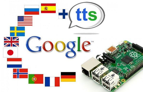 ApiGoogleTTSRaspberryPiSintetizzatoreVocale